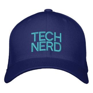 TECH NERD EMBROIDERED CAP