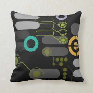 Tech Pillow (on black) Cushions
