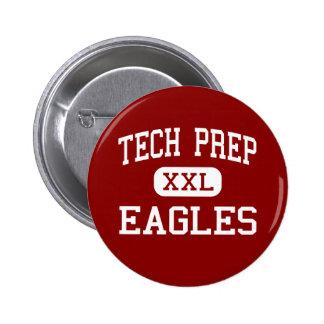 Tech Prep - Eagles - High - Tulare California Pin