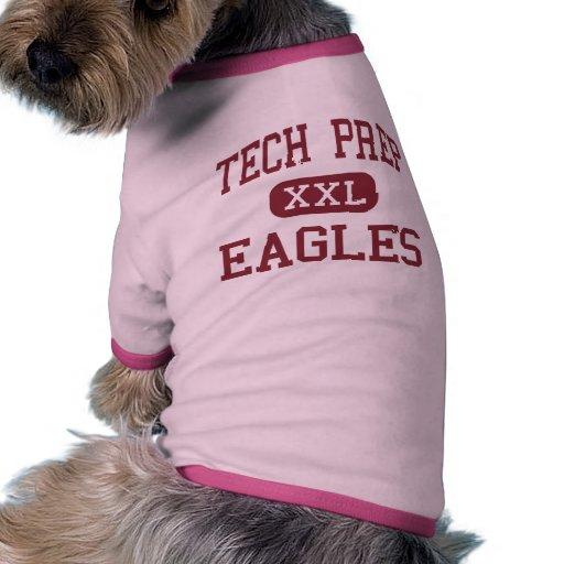 Tech Prep - Eagles - High - Tulare California Doggie T Shirt