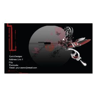 tech render business card