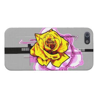 Tech Rose iPhone 5 Case