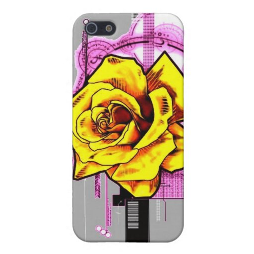 Tech Rose iPhone 5 Cover
