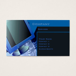Tech. Services Business Card