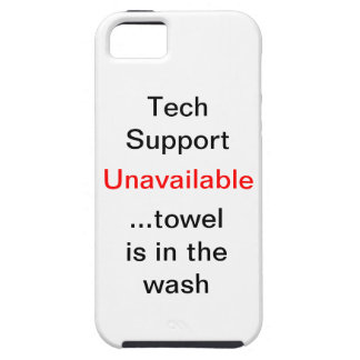 Tech support iPhone 5 case
