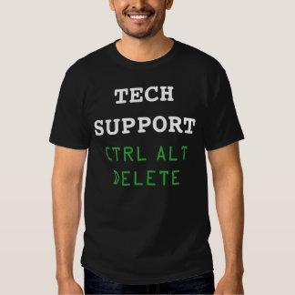 """Tech Support Ctrl Alt Delete"" t-shirt"