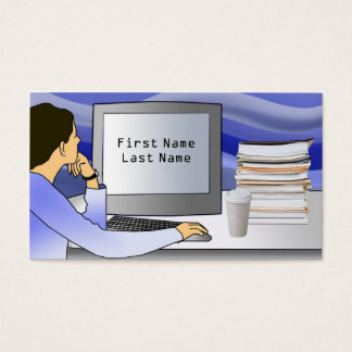 Techical Writing Business Card