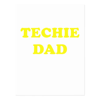 Techie Dad Postcard