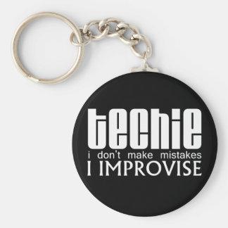 Techie Improvise Keychain