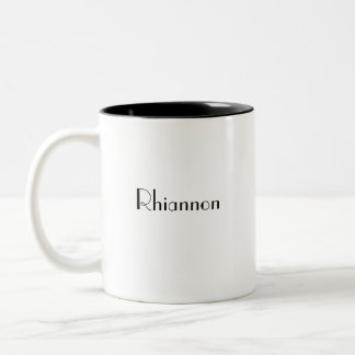 Techie,It Means;I Need... Two-Tone Mug