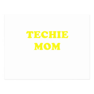 Techie Mom Postcard