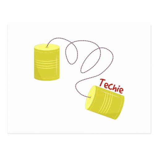 Techie Post Card