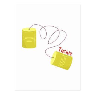 Techie Postcard