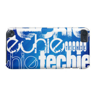 Techie; Royal Blue Stripes iPod Touch 5G Covers