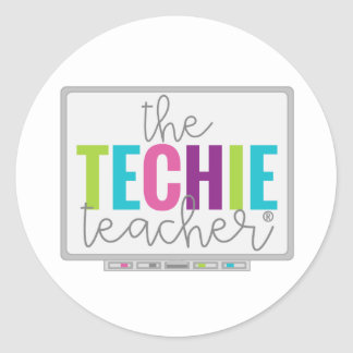 Techie Teacher Stickers