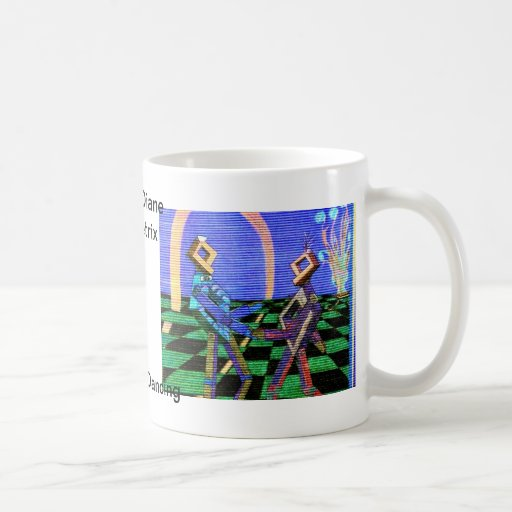Techies Dancing CricketDiane Geometrix Products Coffee Mugs