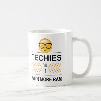 'Techies Do It' Emoji ID236 Coffee Mug