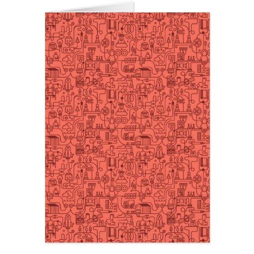 Technic pattern cards