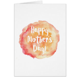 Technical Assistance Mother's Day Greeting Card