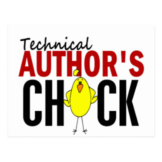 Technical Author's Chick Postcards