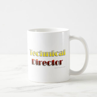 Technical Director (Text Only) Coffee Mug