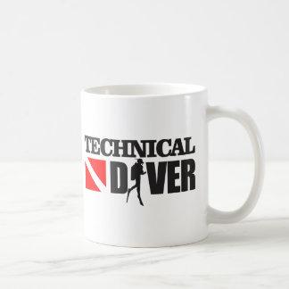 Technical Diver 2 Coffee Mug