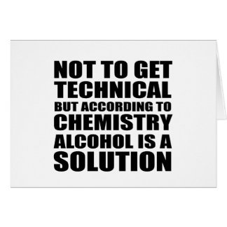 technical greeting card