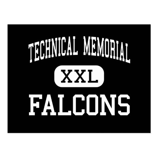Technical Memorial - Falcons - High - Erie Post Cards