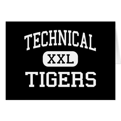 Technical - Tigers - High - Saint Cloud Minnesota Card