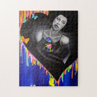 Technicolor Heart Puzzle