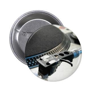 technics 1200 6 cm round badge
