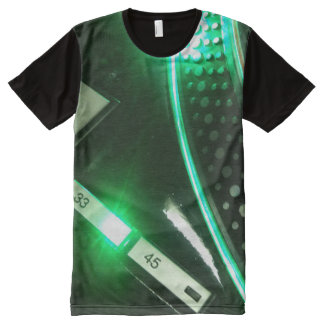 Technics 1200 buttons All over front print T-Shirt All-Over Print T-Shirt