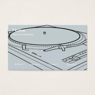 technics 1200 card