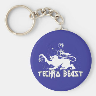 Techno Beast Key Ring