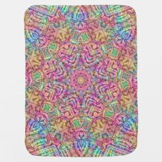 Techno Colors Kaleidoscope  Baby Blankets