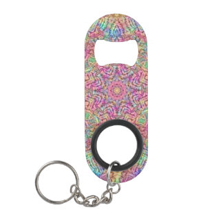Techno Colors Kaleidoscope  Bottle Openers