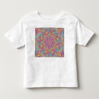 Techno Colors Pattern Kids Shirts, many styles Toddler T-Shirt
