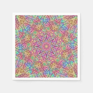 Techno Colors Pattern Paper Napkins, 5 styles Paper Napkin
