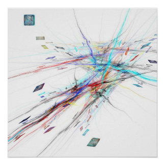 Techno colors - Poster