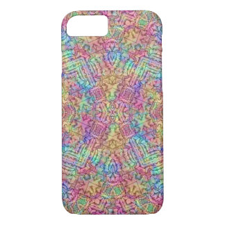 Techno Colours Kaleidoscope iPhone Cases