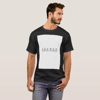 Techno for an answer (Black) T-Shirt