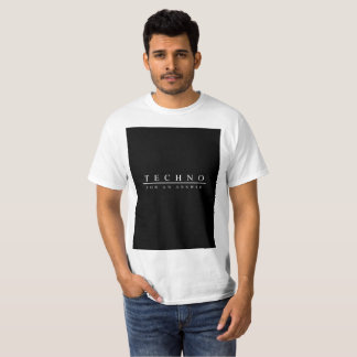 Techno for an answer (White) T-Shirt