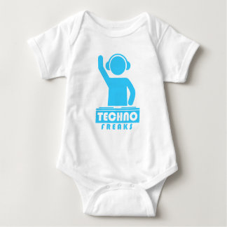 Techno Freaks Baby Bodysuit