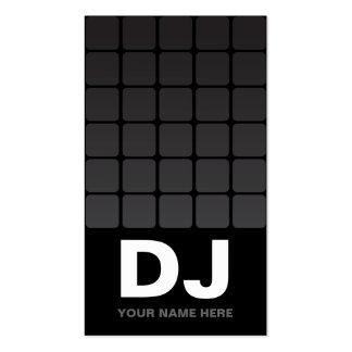 Techno Gradient  DJ Business Cards