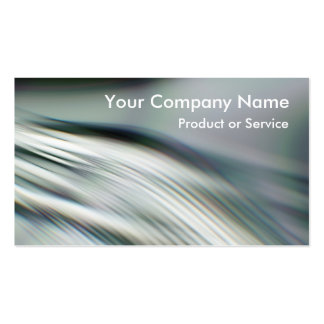 Techno grey green pack of standard business cards
