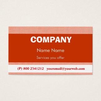 Techno Pop Retro Business Card