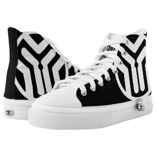 Techno Streetwear - Logo -  High-Top Shoes