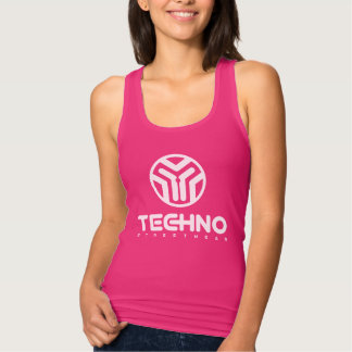 Techno Streetwear - Logo - Womens Tank Top