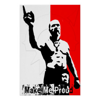 Techno Viking by RedRevolt (Make Me Proud) Poster
