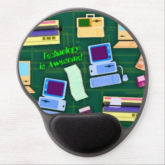 Technology can be Awesome Gel Mouse Pad